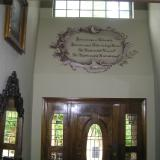 Above entry way