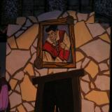 Beauty & the Beast - Tavern Fireplace